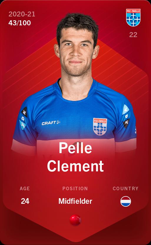 Pelle Clement 2020-21 • Rare 43/100