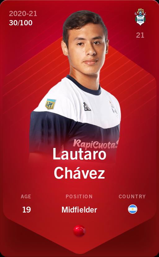 Lautaro Chávez 2020-21 • Rare 30/100