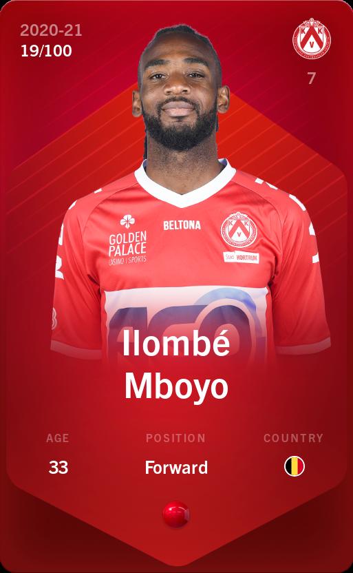 Ilombé Mboyo 2020-21 • Rare 19/100
